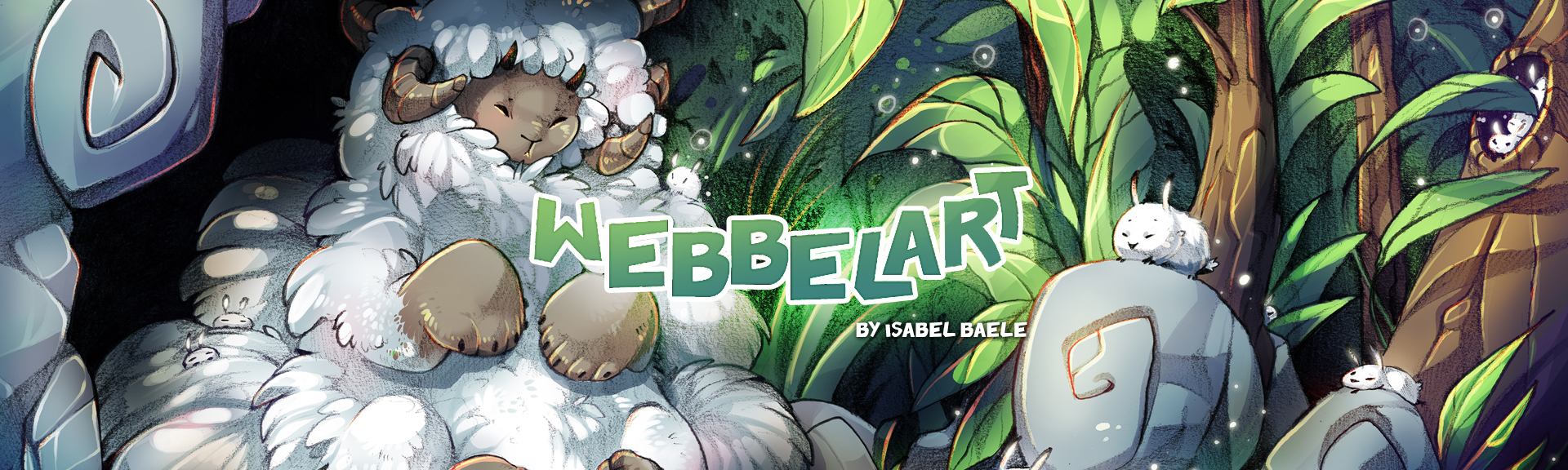 webbelart the sheppard illustration banner